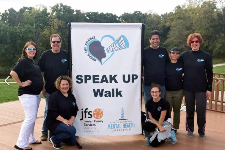 Join us in walking to raise awareness of mental illness and reduce the stigma.